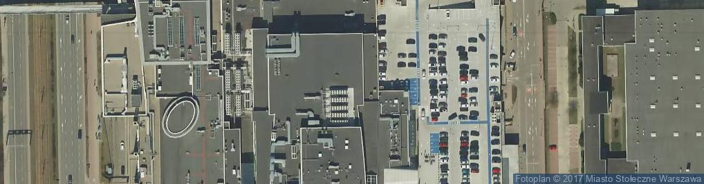 Zdjęcie satelitarne Galeria Mokotów