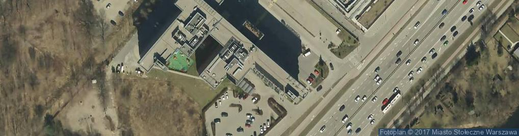 Zdjęcie satelitarne Compensa S.A. Centrala