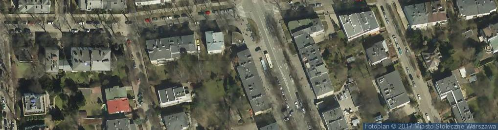 Zdjęcie satelitarne Le Salon