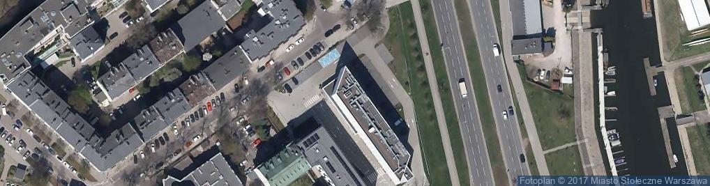 Zdjęcie satelitarne Ibis Budget Warszawa Centrum