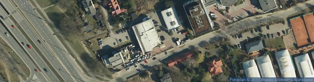 Zdjęcie satelitarne Malibu Auto Centrum Sp. z o.o.