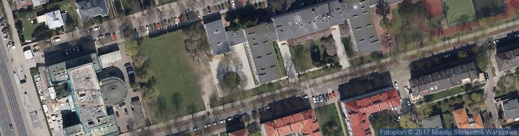 Zdjęcie satelitarne Liceum, VI LO im. T. Reytana w ZS nr 61