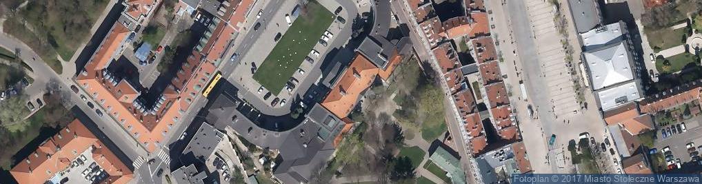 Zdjęcie satelitarne Pałac Prymasowski