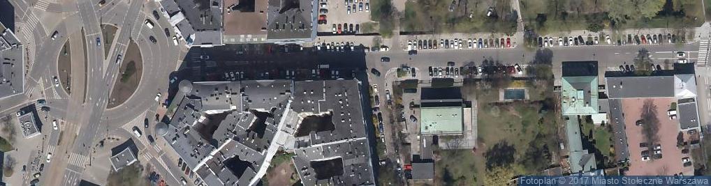 Zdjęcie satelitarne UP Warszawa 11