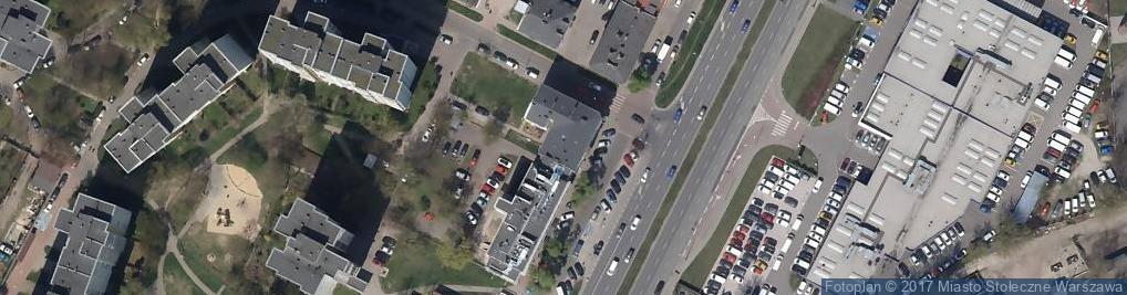 Zdjęcie satelitarne UP Warszawa 24