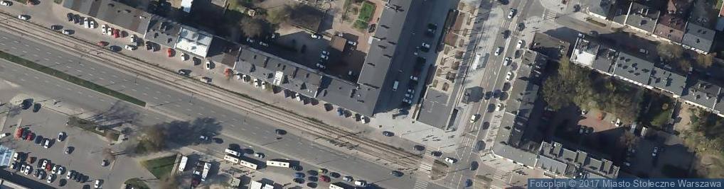 Zdjęcie satelitarne Urząd Pocztowy 44