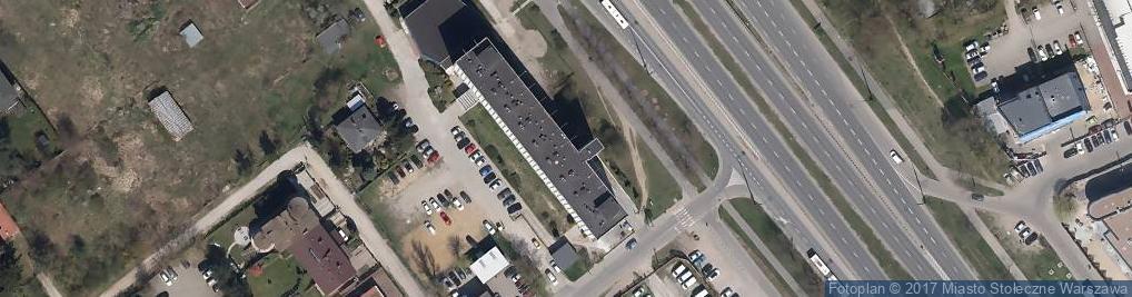 Zdjęcie satelitarne Akademia Finansów