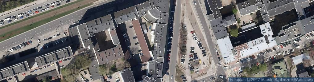 Zdjęcie satelitarne Biuro Ochrony Środowiska m.st. Warszawy