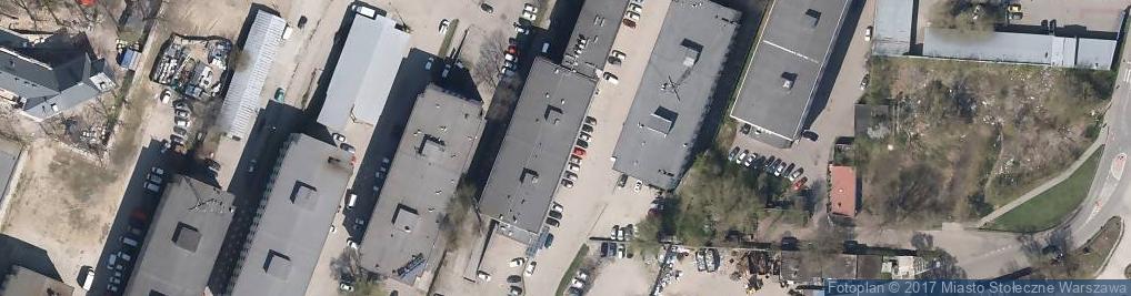 Zdjęcie satelitarne Ochotnicze Hufce Pracy OHP Komenda Główna