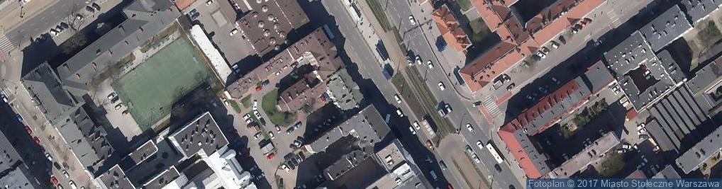 Zdjęcie satelitarne Pryzmat Tusze Tonery