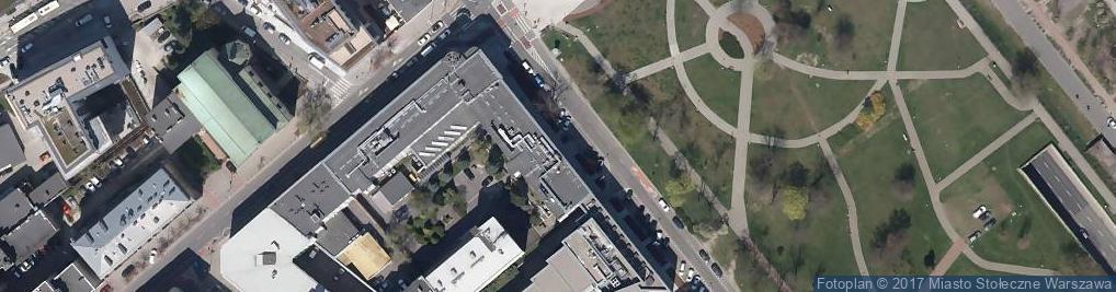 Zdjęcie satelitarne RWE Polska S.A