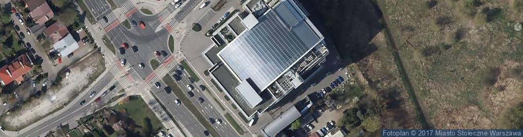 Zdjęcie satelitarne Telewizja TVN