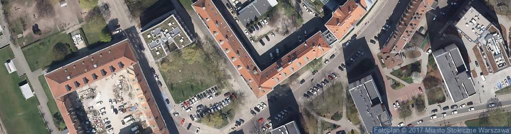 Zdjęcie satelitarne Złota Milonga