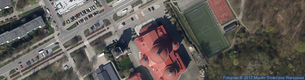 Zdjęcie satelitarne Bł. Władysława z Gielniowa