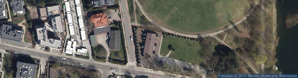 Zdjęcie satelitarne św. Grzegorza