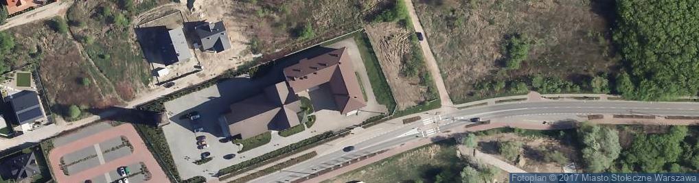 Zdjęcie satelitarne św. Karola Boromeusza