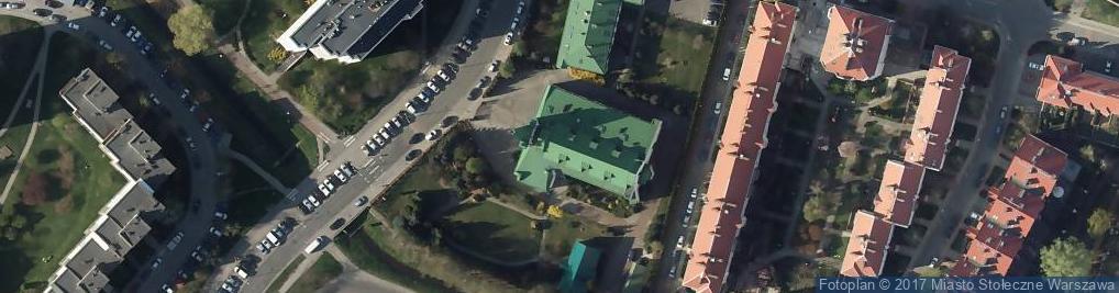 Zdjęcie satelitarne Św. Patryka