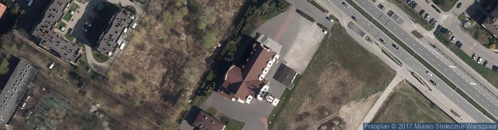 Zdjęcie satelitarne św. Rodziny