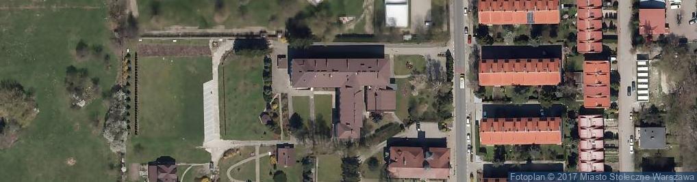 Zdjęcie satelitarne św. Zofii Barat
