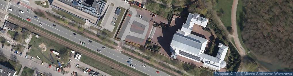 Zdjęcie satelitarne Zesłania Ducha Świętego