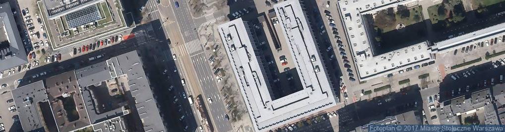 Zdjęcie satelitarne Sąd Rejonowy dla m.st. Warszawy i dla Warszawy-Śródmieścia
