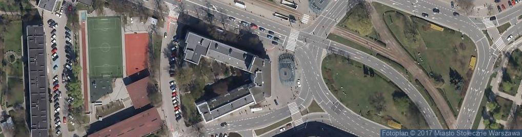 Zdjęcie satelitarne V Oddział Santander Consumer Bank