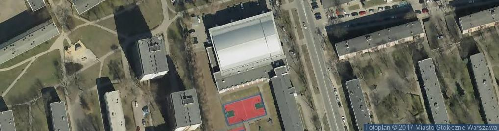 Zdjęcie satelitarne Siłownia