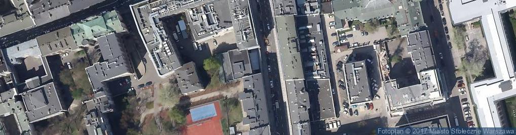 Zdjęcie satelitarne Sklep dla plastyków