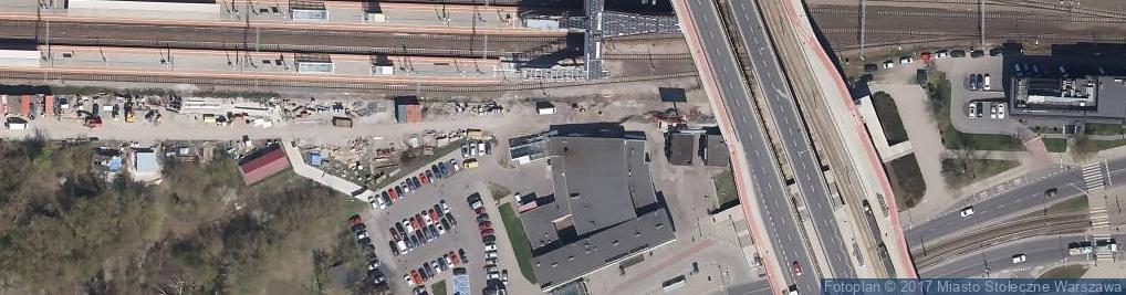 Zdjęcie satelitarne Warszawa Gdańska