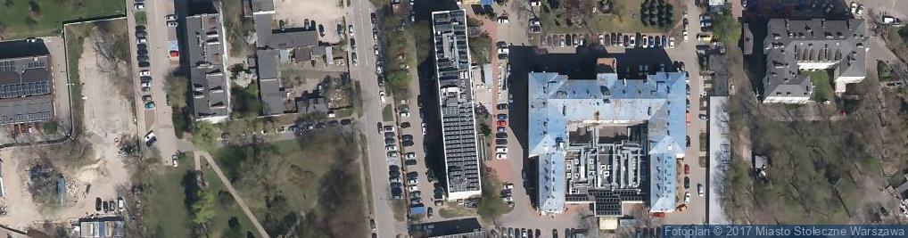 Zdjęcie satelitarne Instytut Matki i Dziecka