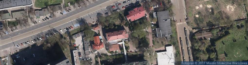 Zdjęcie satelitarne Wojewódzki Szpital Zakaźny SPZOZ