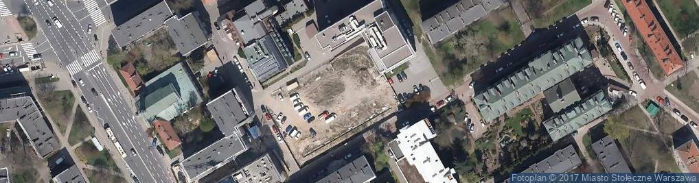 Zdjęcie satelitarne Przychodnia Falck