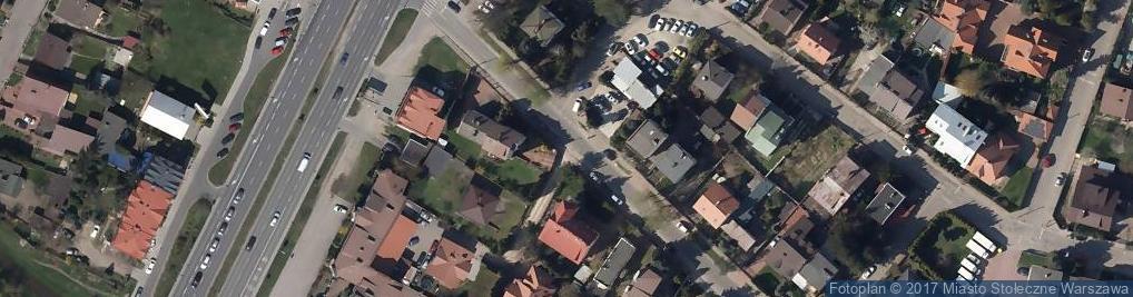 Zdjęcie satelitarne Wulkanizacja, Opony