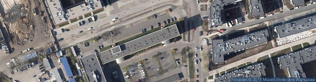 Zdjęcie satelitarne  ZUS II Oddział w Warszawie