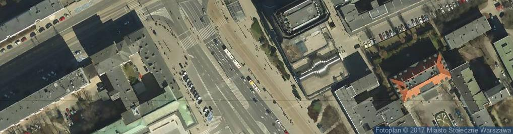 Zdjęcie satelitarne Pomnik Stefana Starzyńskiego plac Bankowy 03