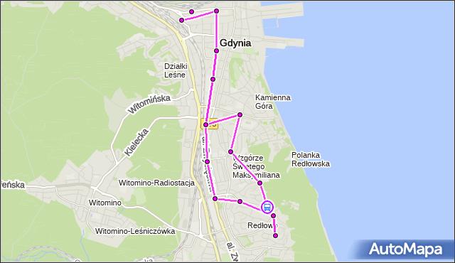 Rozkład jazdy autobusu 133 na przystanku Kopernika - Kościół. ZKMGdynia na mapie Targeo