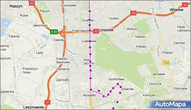 Rozkład jazdy autobusu 739 na przystanku STRUMYKOWA 02. ZTM Warszawa na mapie Targeo