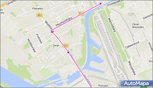 Rozkład jazdy autobusu 426 na przystanku KUPIECKA 01. ZTM Warszawa na mapie Targeo