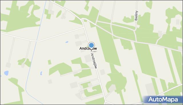 Andrzejów, Andrzejów, mapa Andrzejów