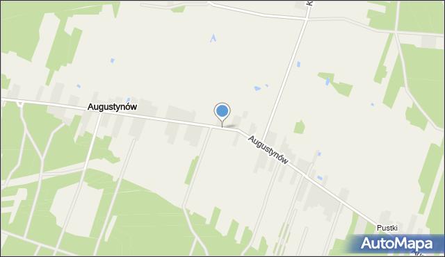 Augustynów, Augustynów, mapa Augustynów