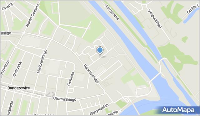 Wrocław, Canaletta Bernarda Belotta, mapa Wrocławia
