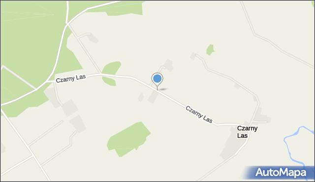 Czarny Las, Czarny Las, mapa Czarny Las