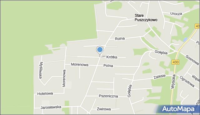 Puszczykowo, Czarnieckiego Stefana, mapa Puszczykowo