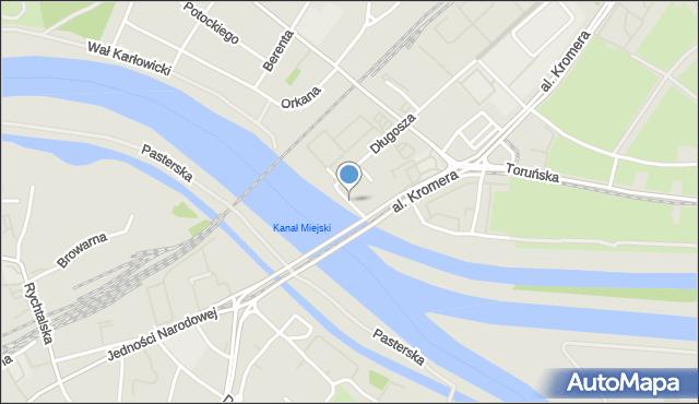 Wrocław, Galla Anonima, mapa Wrocławia