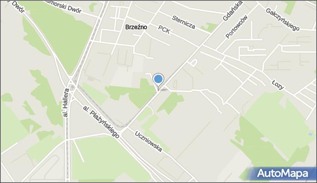 Gdańsk, Gdańska, mapa Gdańska