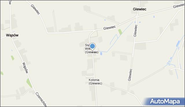 Glewiec, Glewiec, mapa Glewiec