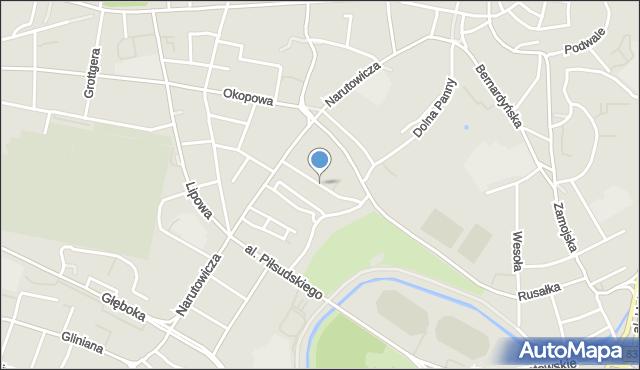 Lublin, Graniczna, mapa Lublina