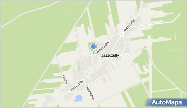 Długosiodło, Jaszczułty, mapa Długosiodło