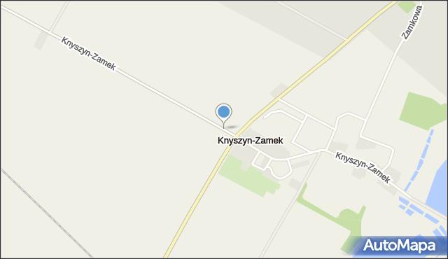 Knyszyn, Knyszyn, mapa Knyszyn