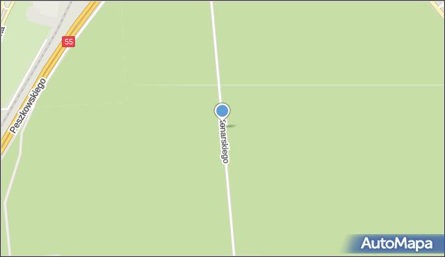 Grudziądz, Konarskiego, mapa Grudziądza